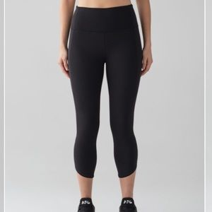 Lululemon Just Breathe Crop Black, 4